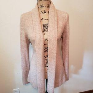H&M blush pink cardigan